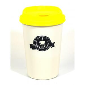 Atomic2Go Car Ashtray Cup - Yellow