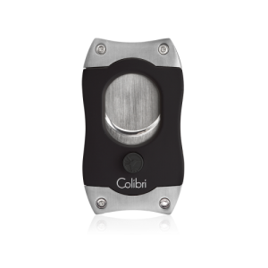 Colibri S Cut Cigar Cutter - Black & Chrome