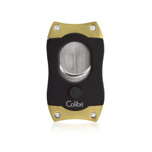 Colibri S Cut Cigar Cutter - Black & Gold