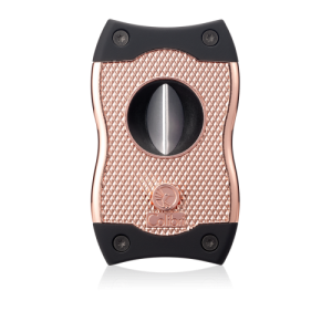 Colibri SV Cut Cigar Cutter - Rose Gold & Black - CHRISTMAS GIFT