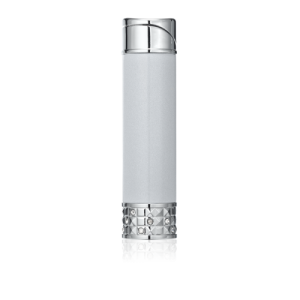 Colibri Allure Ladies Soft Flame Lighter - Silver & Chrome