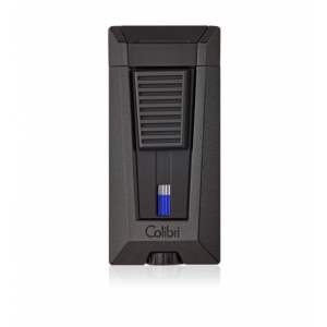 Colibri Stealth Triple Flame Lighter - Metallic Black