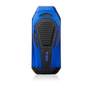 Colibri Boss Triple Flame Lighter - Blue & Black