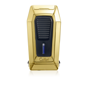 Colibri Quantum Triple Flame Lighter - Polished Gold