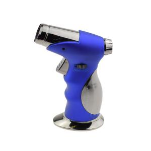 SM Jet Table Lighter with Cigar Punch - Blue