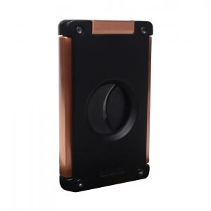 Adorini Cigar Cutter Neptune - Solingen Blades - Black/Rose Gold