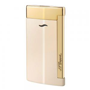 ST Dupont Slim 7 – Flat Flame Torch Lighter - Nude and Gold - End of Line