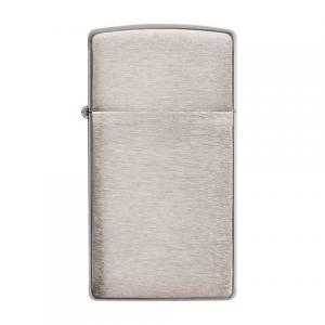 Zippo - Brushed Chrome Slim - Windproof Lighter