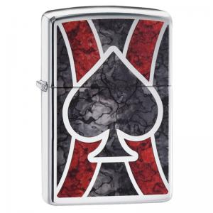 Zippo - Ace of Spades Design - Windproof Lighter