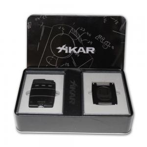 Xikar Ultra Mag Single Jet Flame Lighter and Cutter Gift Set