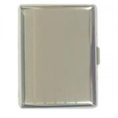 Double Sided Chrome Cigarette Case