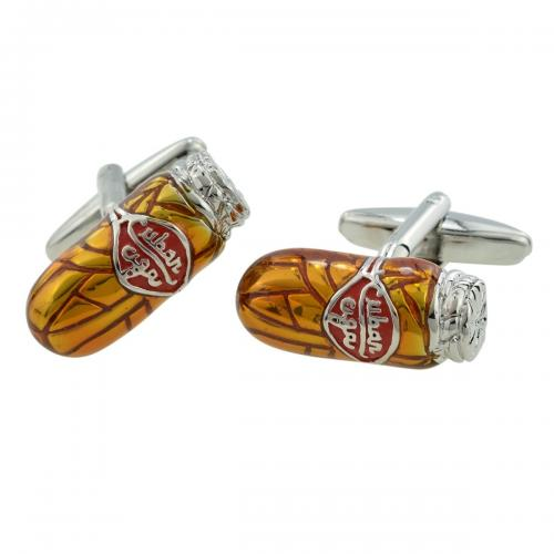 Cigar Smoker Cufflinks
